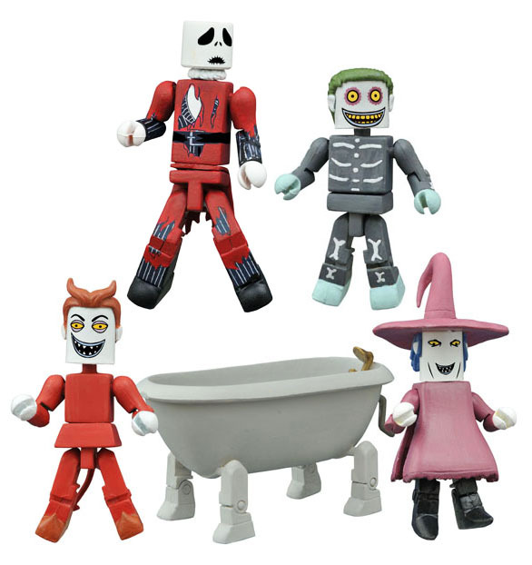 NYCC 2015 Exclusive Nightmare Before Christmas Minimates Deluxe Box Set