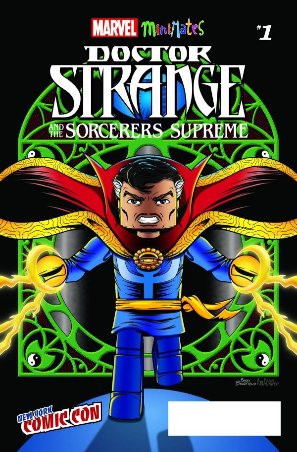 NYCC 2016 Exclusive Doctor Strange and the Sorcerers Supreme #1 Marvel Minimates Cover Variant Comic