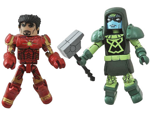 Space Armor Iron Man & Ronan the Accuser Minimates