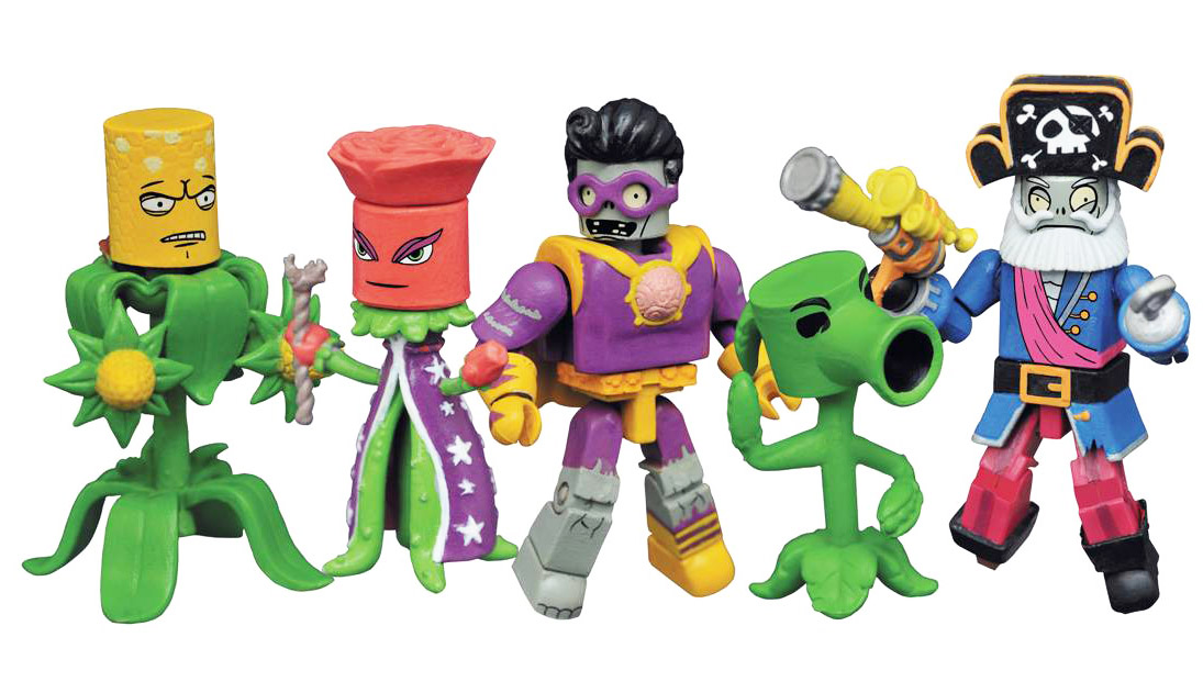 Plants VS Zombies Garden Warfare 2 Minimates Series 1 Box Set