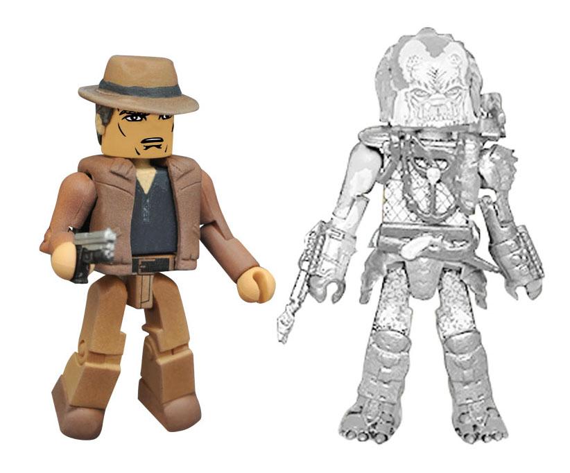 Cloaked Elder Predator & Detective Lambert Minimates