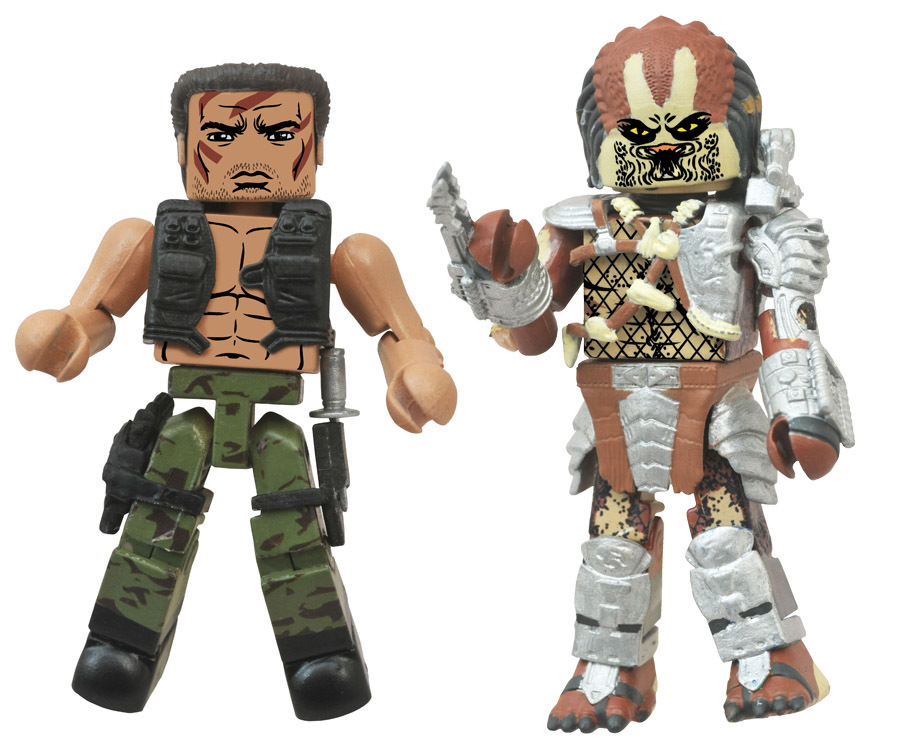 Dutch vs. Unmasked Predator Minimates