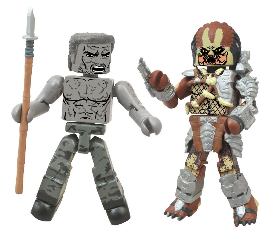 Mud-Covered Dutch vs. War Cry Predator Minimates Variant Set