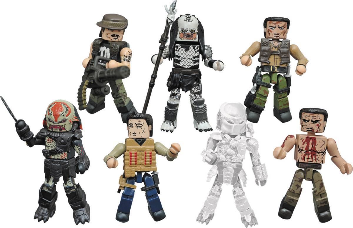 Predator Minimates Series 2 Full Set of 8