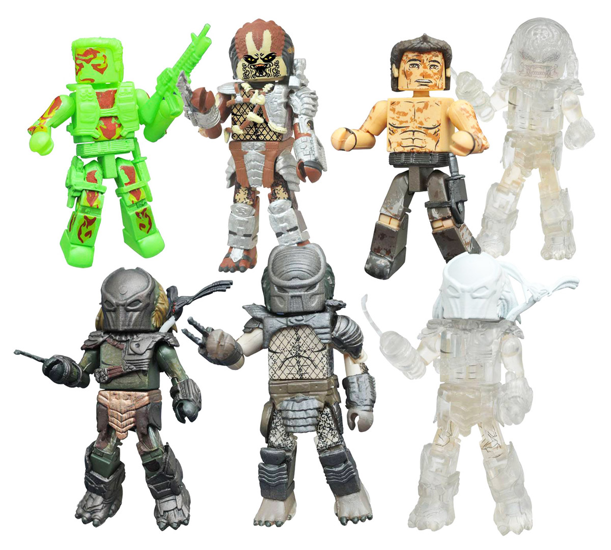 Predator Minimates Series 3 Full Set of 8