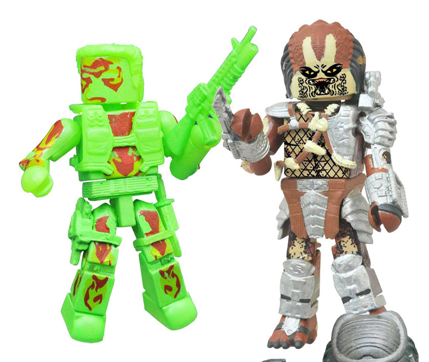 Thermal Dutch & Classic Predator Minimates