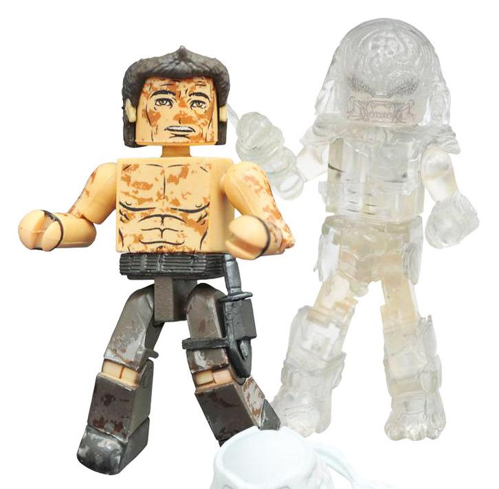 Muddy Royce & Cloaked Berserker Predator Minimates