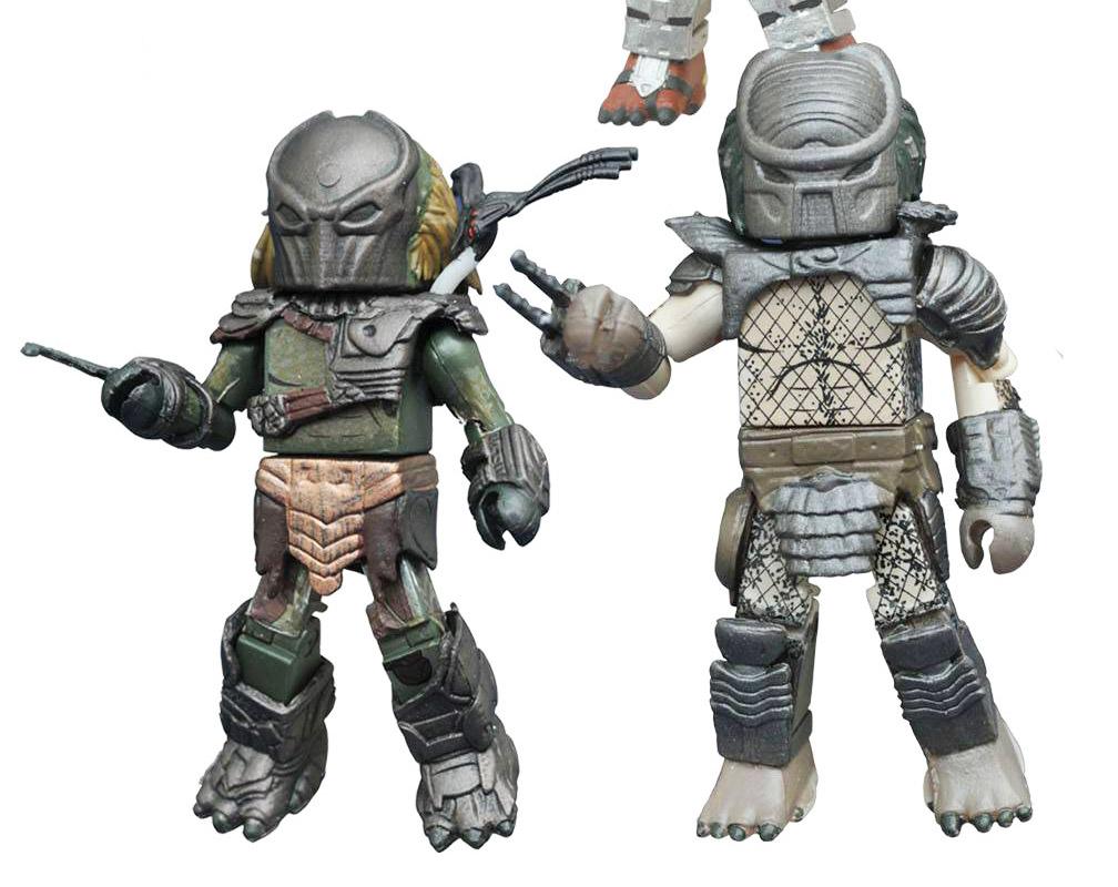 Falconer Predator & Warrior Predator Minimates