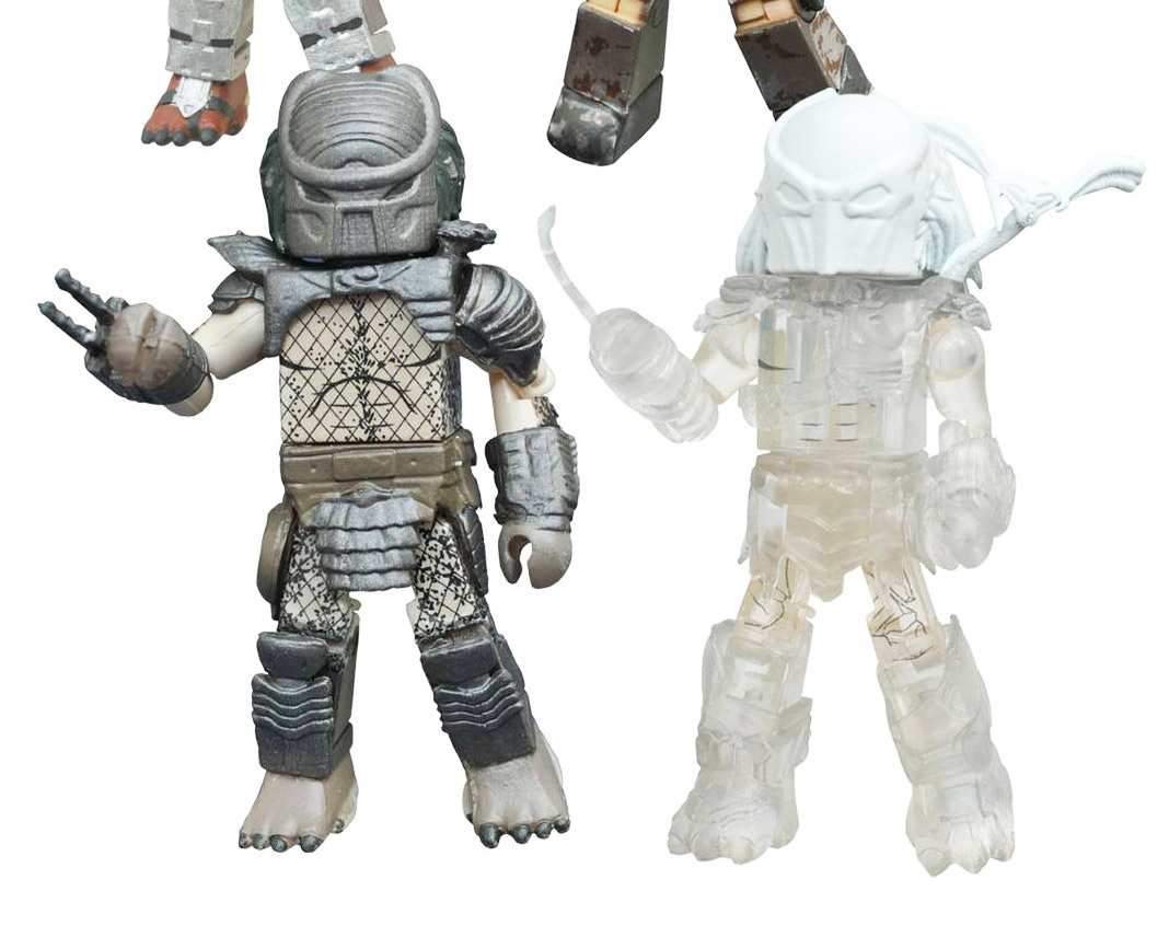 Cloaked Falconer Predator & Warrior Predator Minimates Variant Set