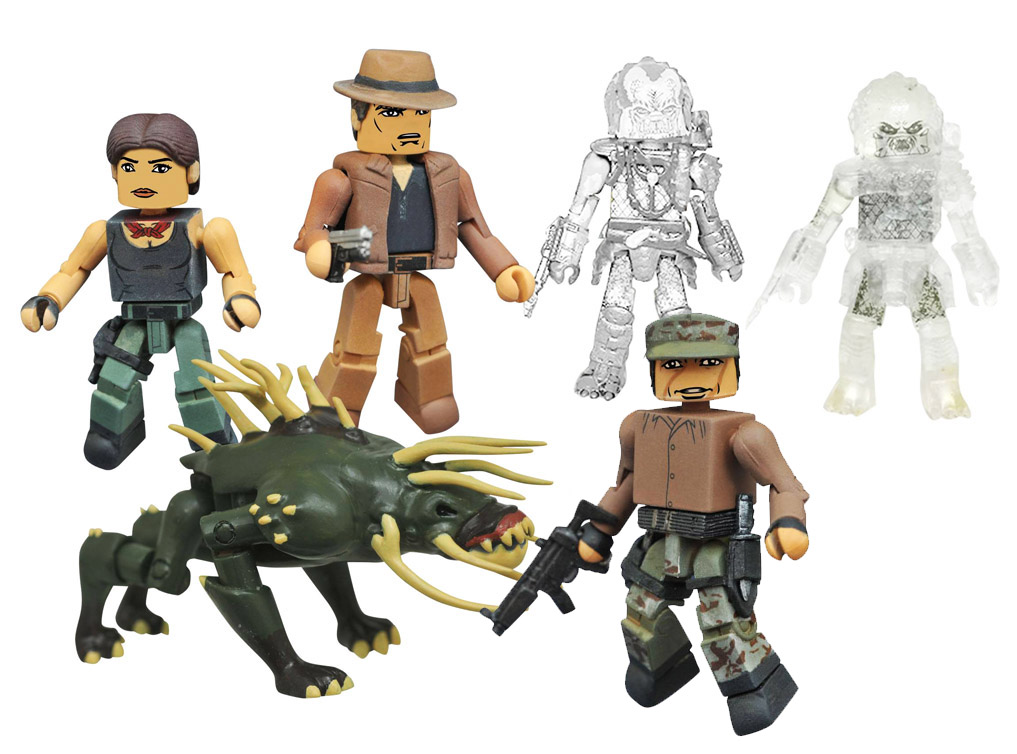 Predator Minimates Series 4 Set of 6
