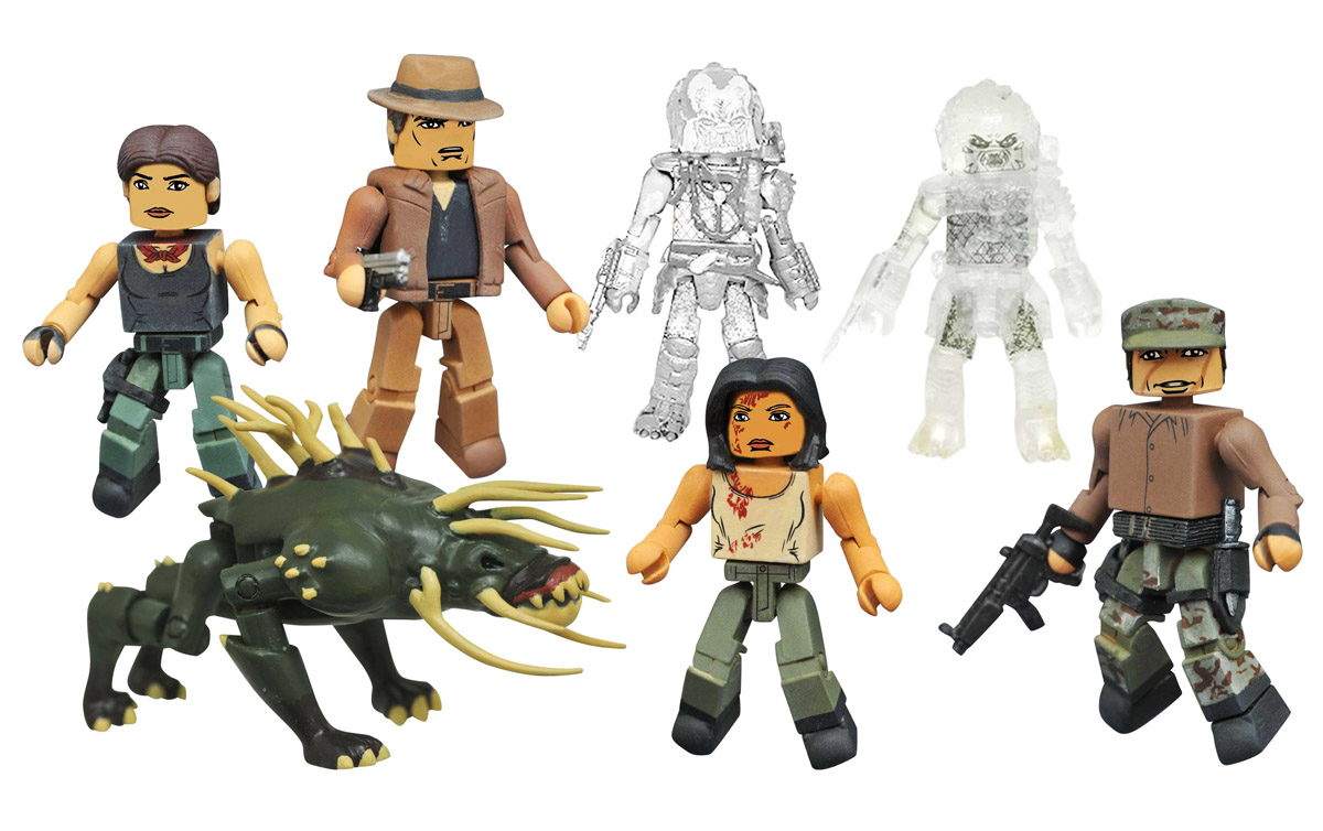Predator Minimates Series 4 Full Set of 8
