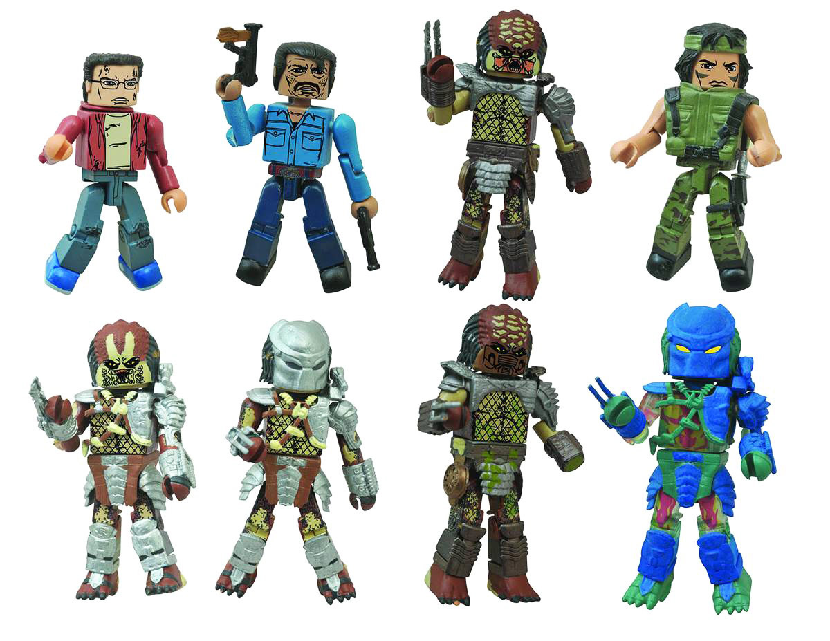 Predator Minimates Single Packs Full Case of 18
