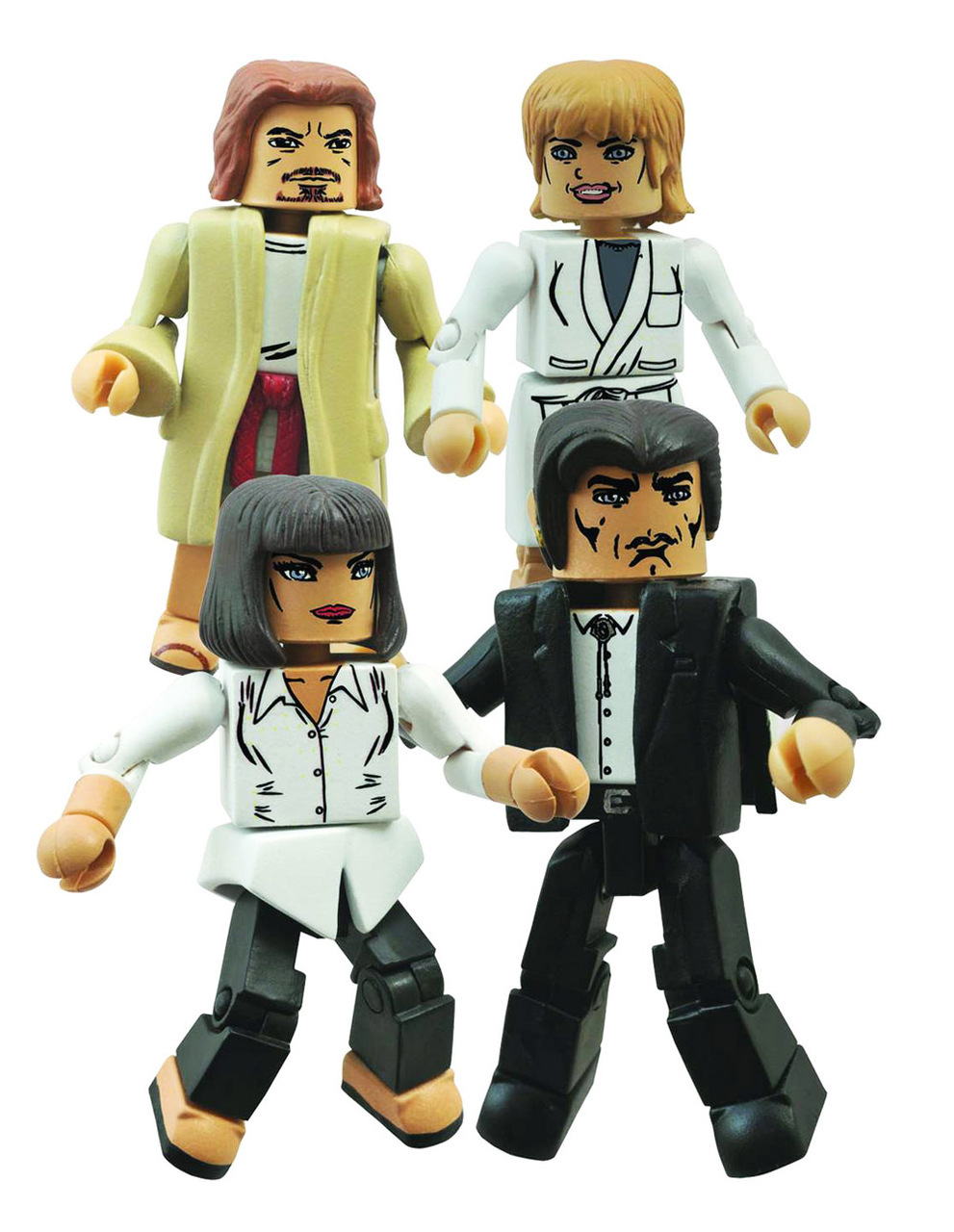 Pulp Fiction Minimates Mia's Night Out Box Set