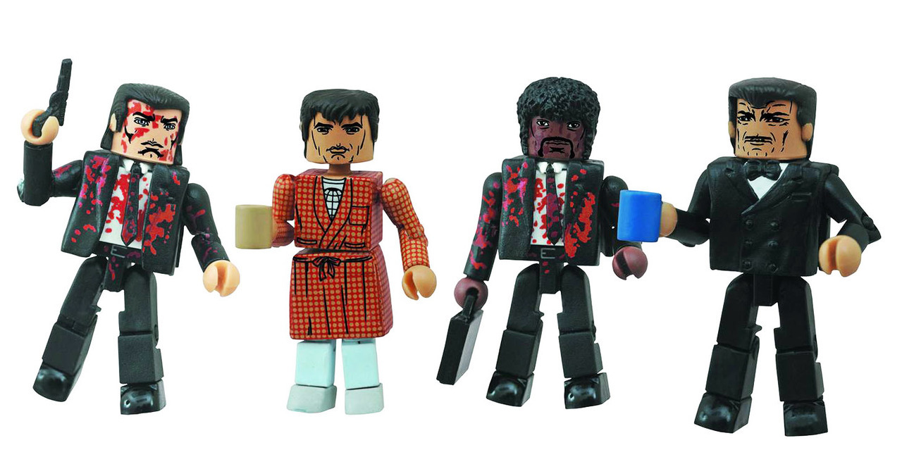 Pulp Fiction Minimates Bonnie Situation Box Set