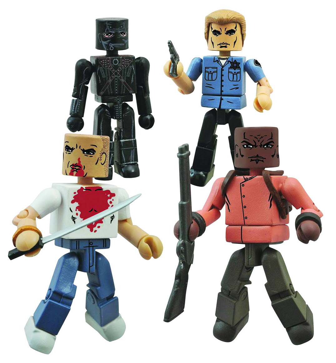 Pulp Fiction Minimates The Gimp Box Set