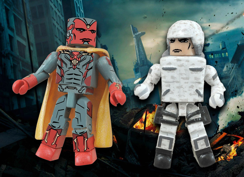 Vision & HYDRA Soldier Avengers Marvel Minimates