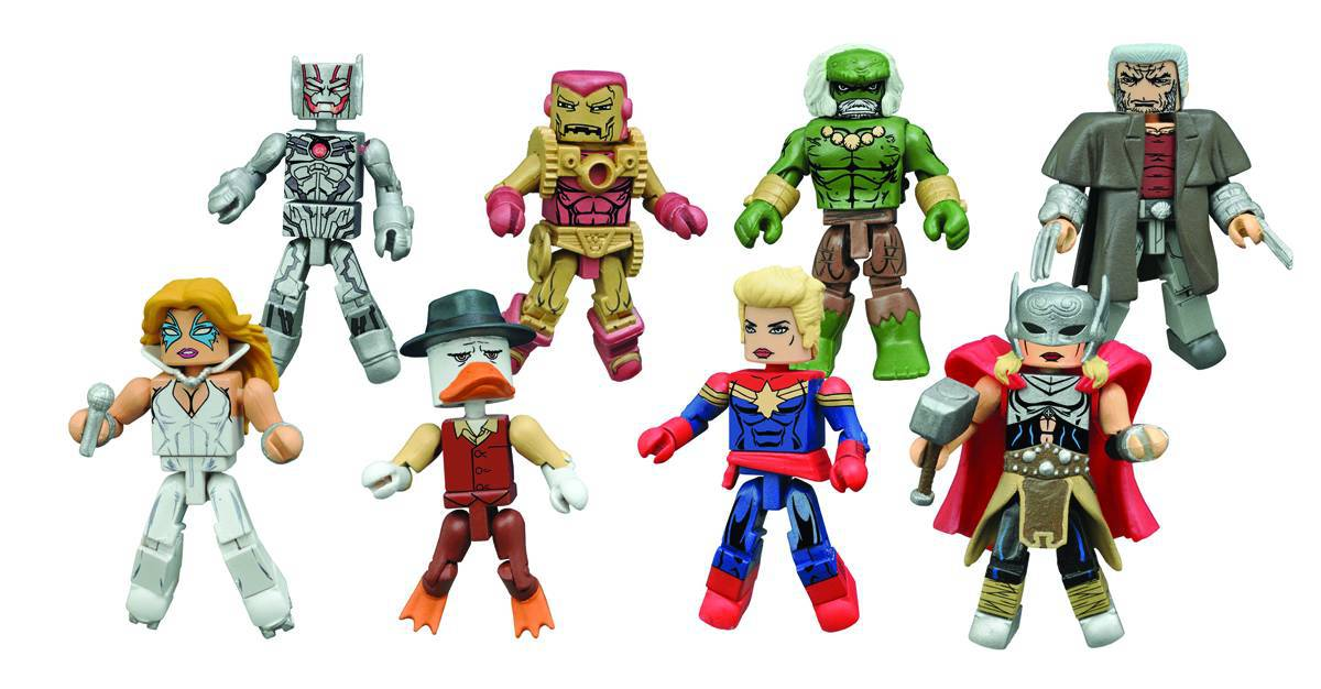 Marvel Minimates Series 64: Secret Wars Full Set of 8
