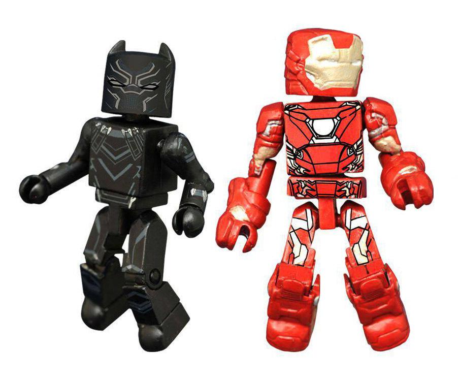 Black Panther & Iron Man Civil War Minimates