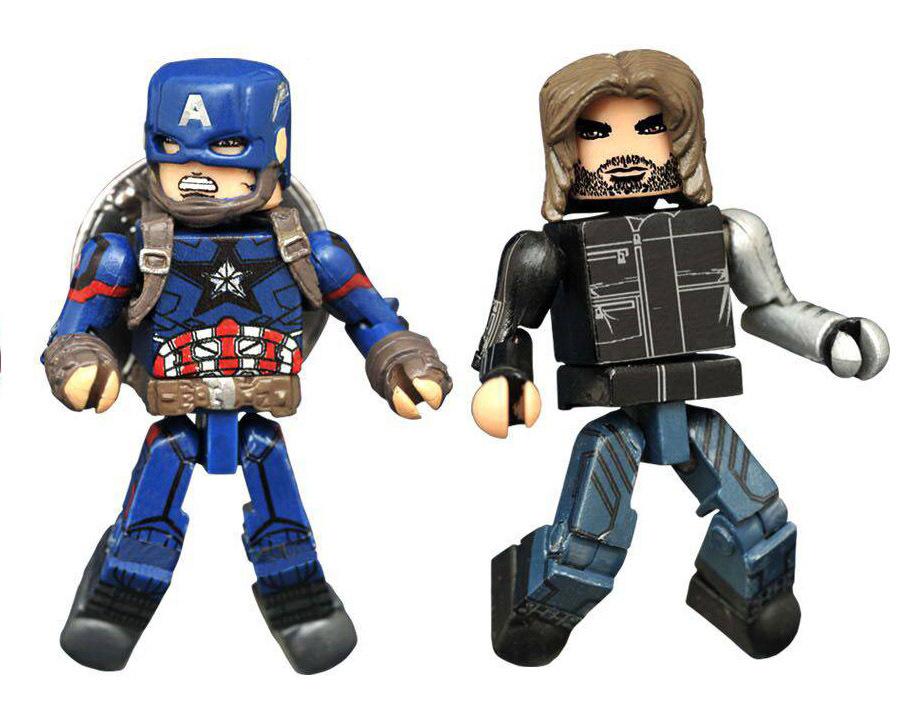 Captain America & Winter Soldier Civil War Minimates