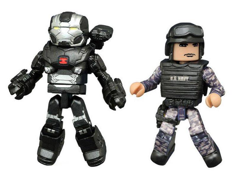 War Machine & Guard Civil War Minimates