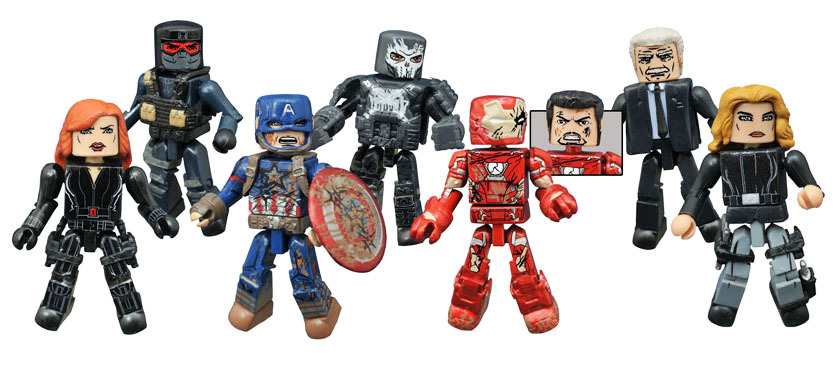 Marvel Minimates Series 67: Civil War Full Set of 8
