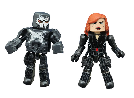 Black Widow & Crossbones Civil War Marvel Minimates