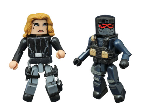 Agent 13 & Mercenary Civil War Marvel Minimates
