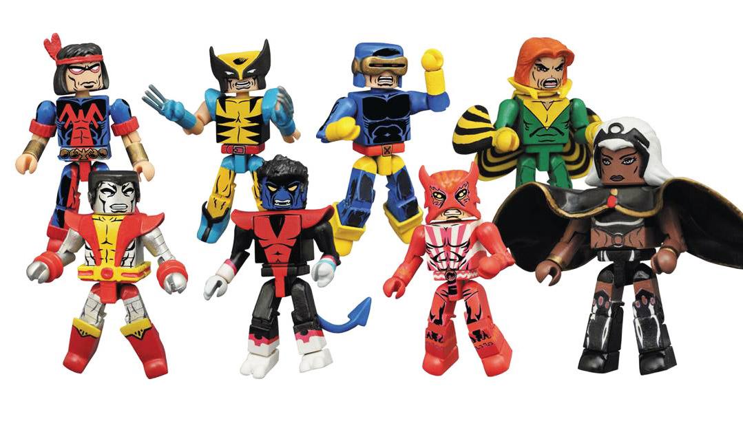Marvel Minimates Series 68: Giant Size X-Men Full Set of 8