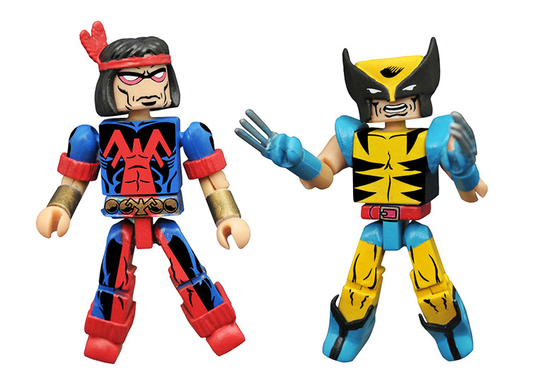 Wolverine & Thunderbird Marvel Minimates