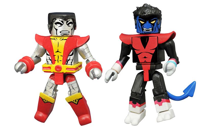 Colossus & Nightcrawler Marvel Minimates