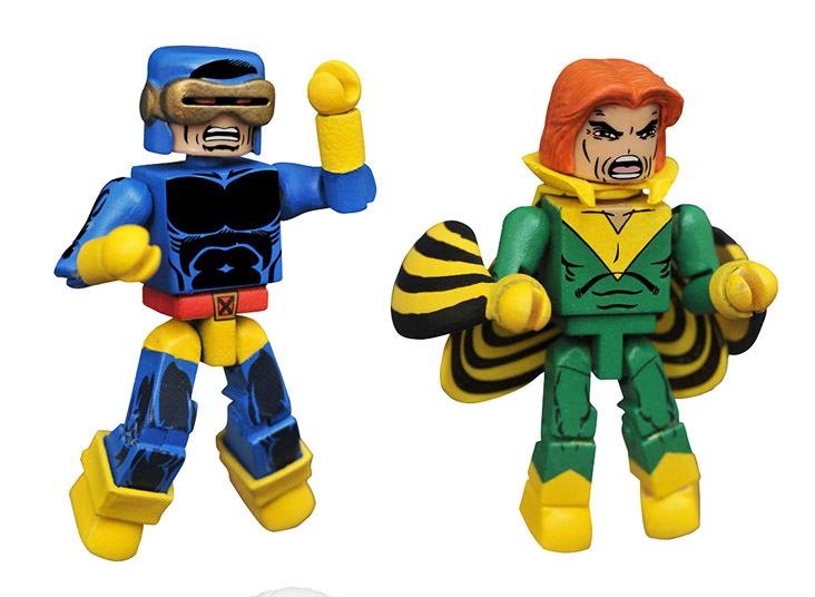 Cyclops & Banshee Marvel Minimates
