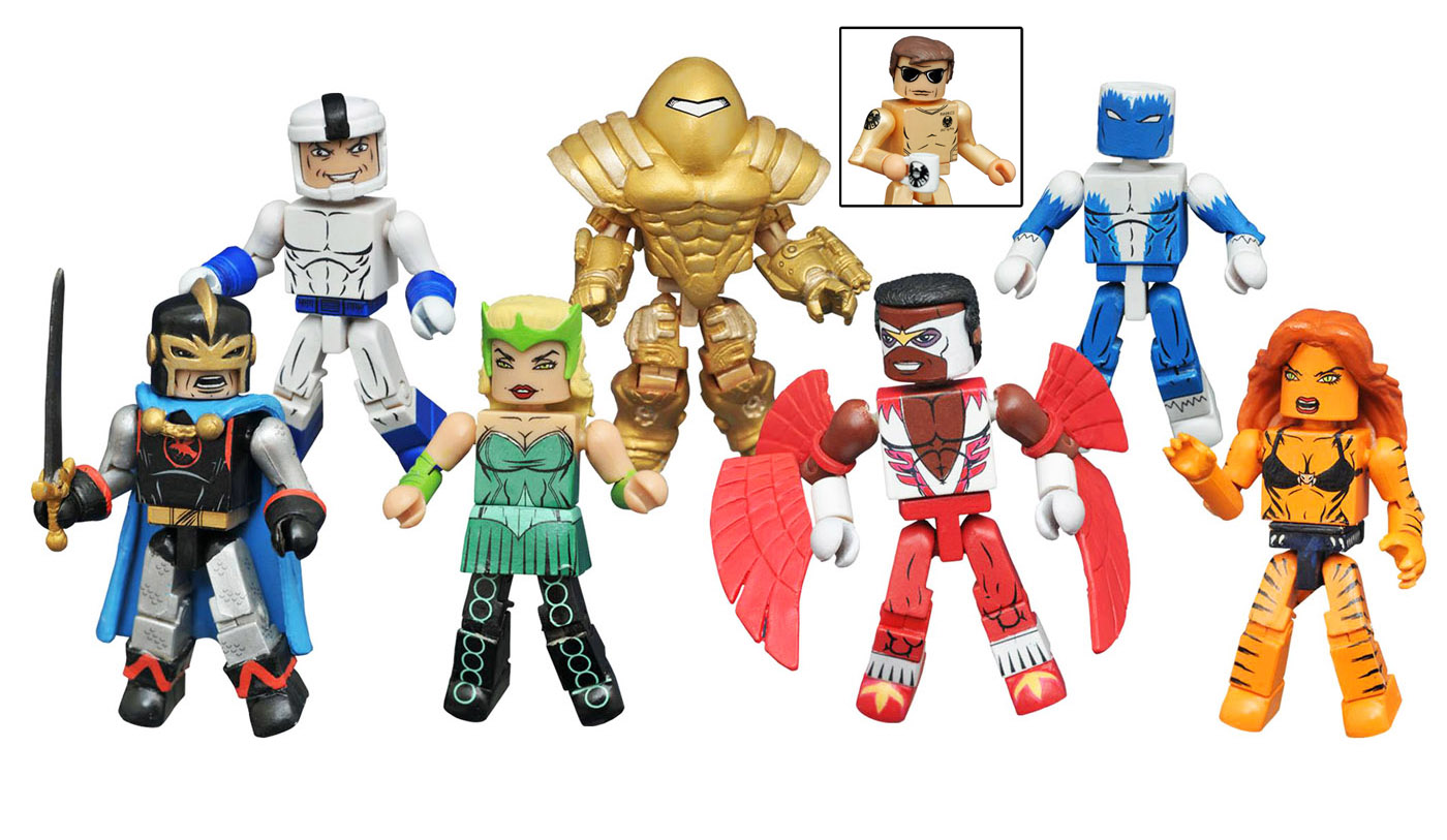 Marvel Minimates Series 69: Classic Avengers Full Set of 8