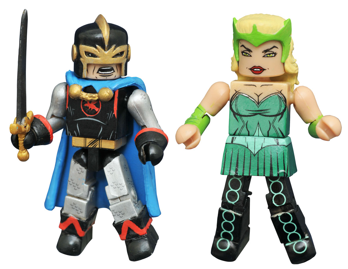 Black Knight & Enchantress Marvel Minimates