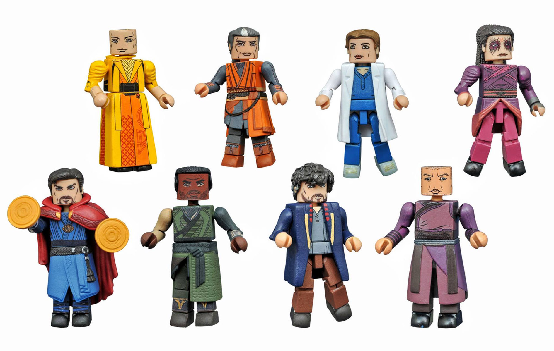 Marvel Minimates Series 70: Dr. Strange Full Set of 8
