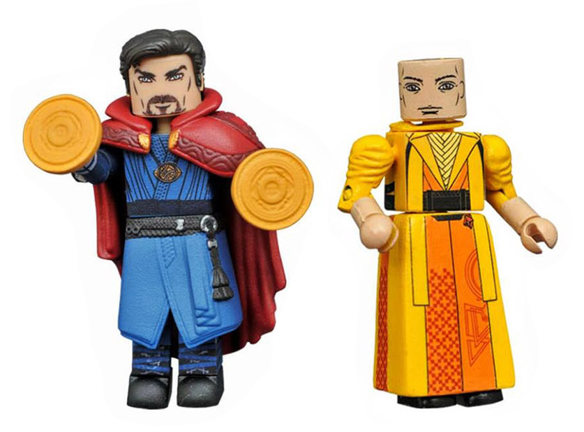 Dr. Strange & The Ancient One Marvel Minimates