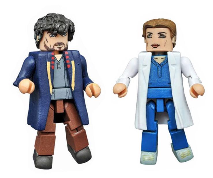 Stephen Strange & Christine Palmer Dr. Strange Marvel Minimates