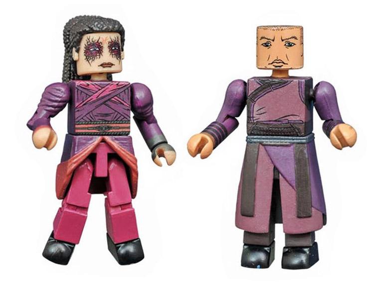 Wong & Zealot Dr. Strange Marvel Minimates