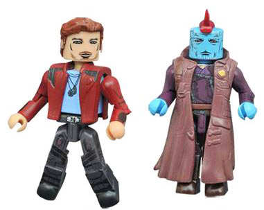 Star-Lord & Yondu Guardians of the Galaxy 2 Minimates