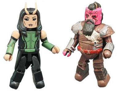 Taserface & Mantis Guardians of the Galaxy 2 Minimates