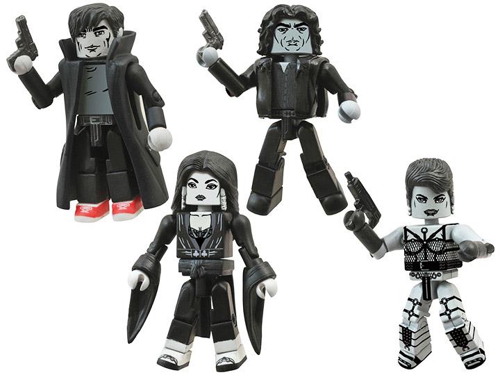 Sin City Minimates Series 3 Box Set