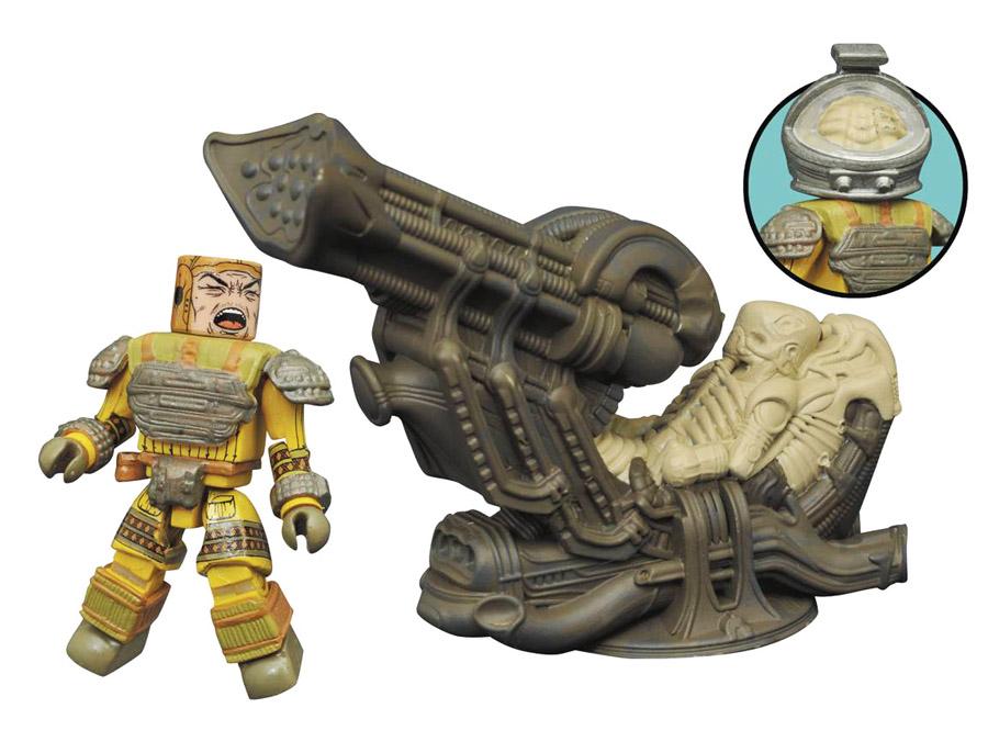 Space Jockey Deluxe Aliens Minimates Set