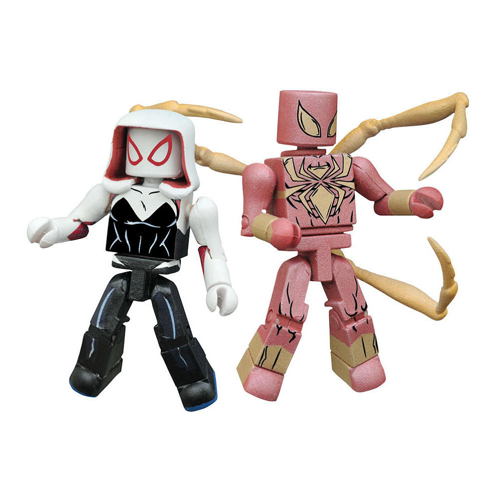 Spider Gwen & Iron Spidey TRU Exclusive Marvel Minimates