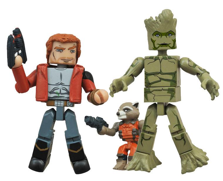 Star Lord / Rocket Raccoon / Groot Walgreens Exclusive Marvel Minimates