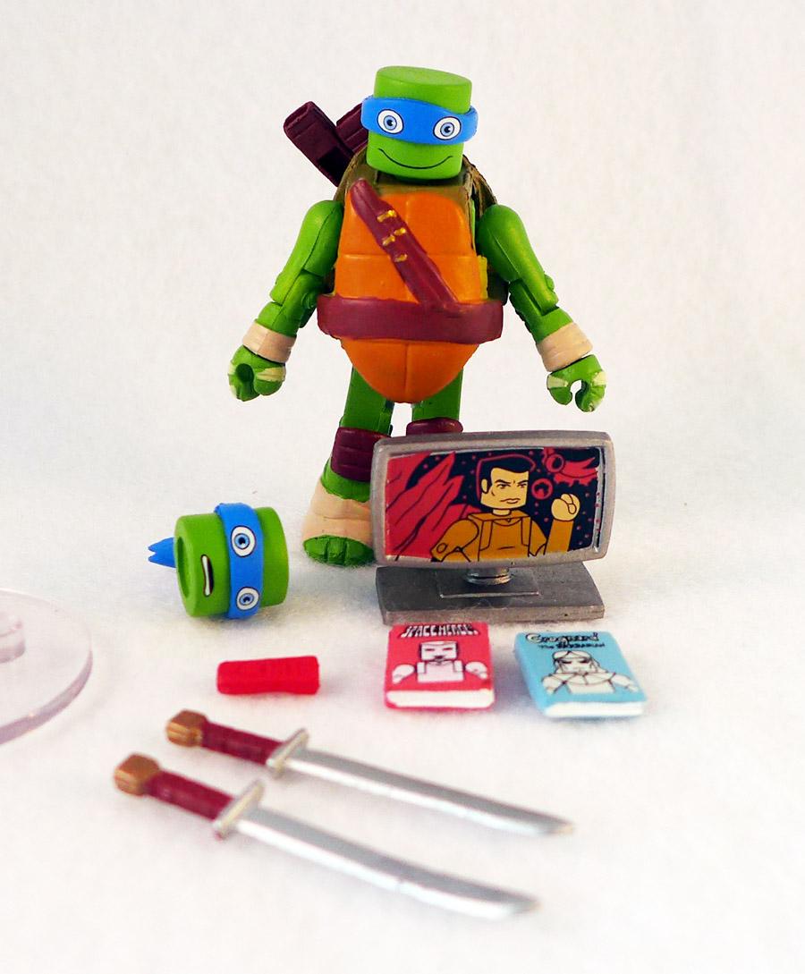 Leonardo TMNT Series 5 Minimate