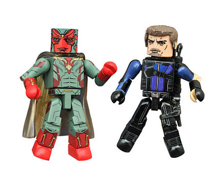 TRU Exclusive Vision & Hawkeye Civil War Minimates