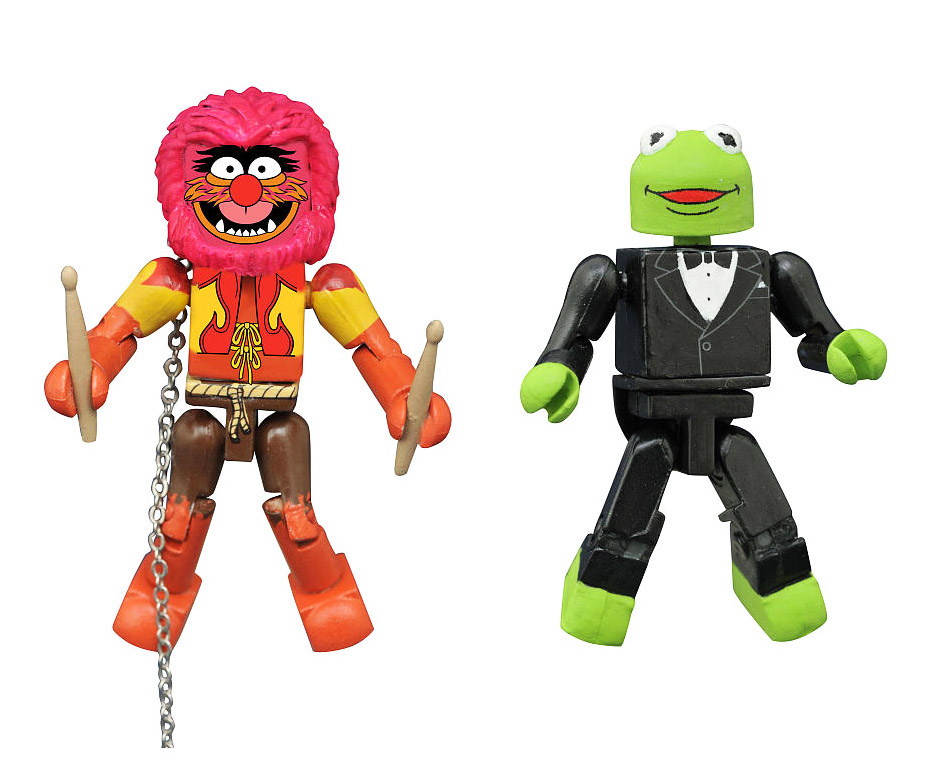 TRU Exclusive Tuxedo Kermit & Animal Muppets Minimates