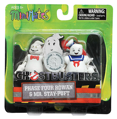 TRU Exclusive Rowan & Stay Puft Ghostbusters 2016 Minimates