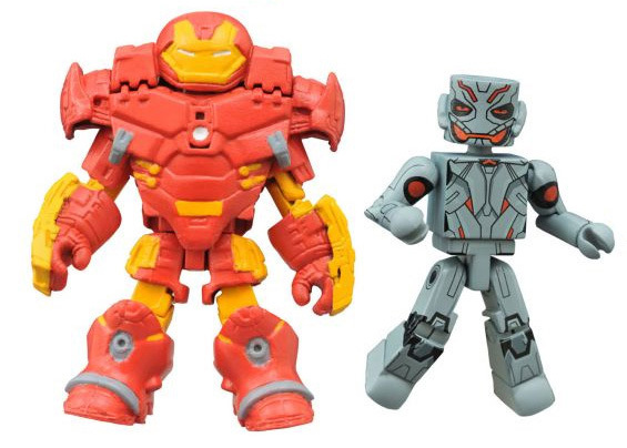 Hulkbuster Iron Man & Ultron Walgreens Exclusive Marvel Minimates
