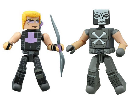 Hawkeye & Crossbones Walgreens Exclusive Marvel Minimates
