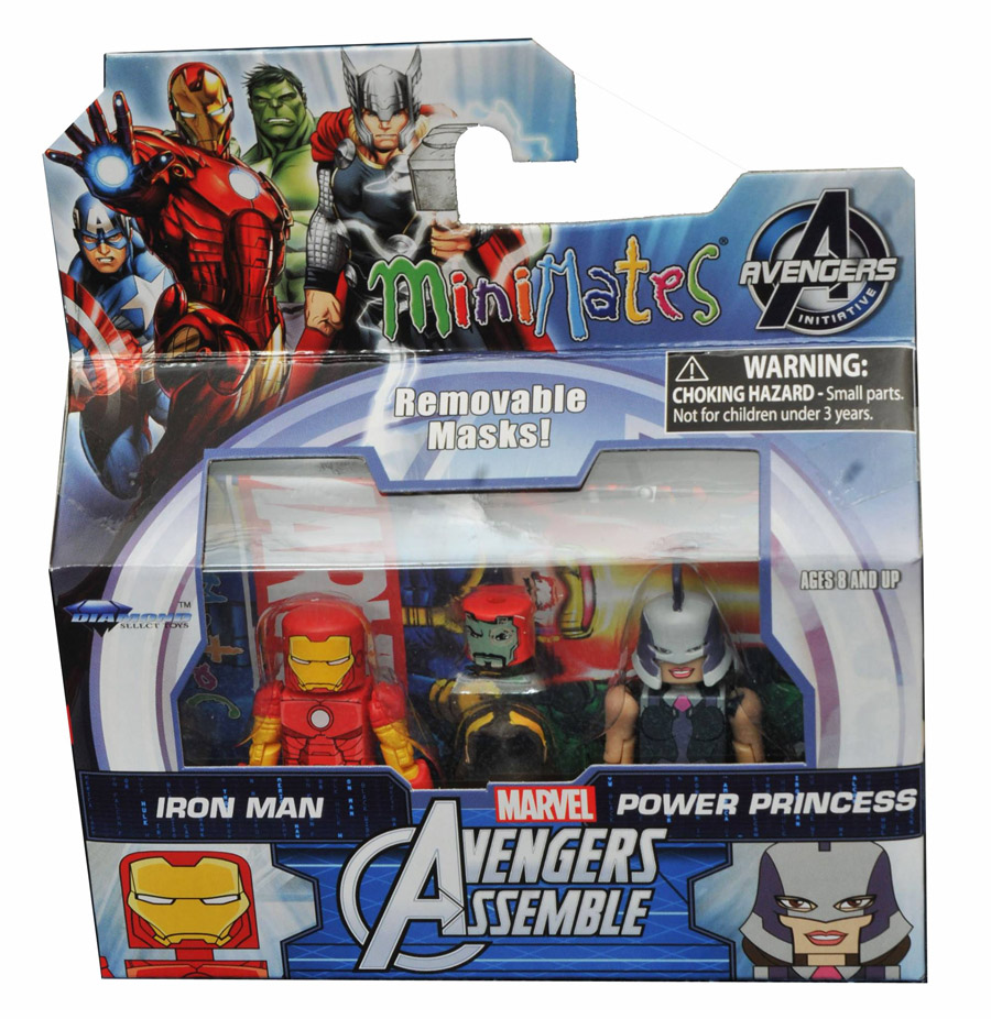 Iron Man & Power Princess Walgreen's Exclusive Minimates